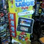 Nintendo 3DS XL-Paper Mario standee