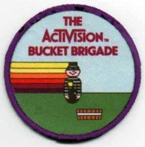 Activision High Score Bucket Brigade Patch