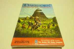 DARKHORN-Realm-of-The-Warlords-AVALON-HILL-APPLE-II-Commodore-64-SEALED