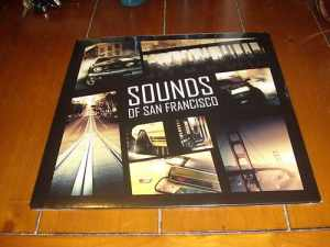 Driver 3 Sounds of San francisco yellow Vinyl LP Soundtrack
