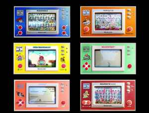 Fridge Magnets Nintendo Widescreen Game and Watch Collection