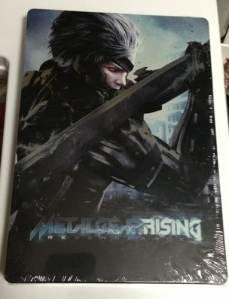 Metal Gear Rising Revengeance XBOX 360 STEELBOOK