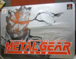 Metal Gear Solid Silver Poster