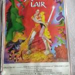 Dragon's Lair arcade poster Don Bluth Rick Dyer Gary Goldman John Pomeroy signed