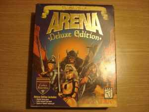 Elder Scrolls Arena Deluxe Edition Boxed CD-ROM