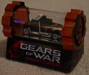 Gears of War BOXMAN Hot Wheels CONVOY CUSTOM