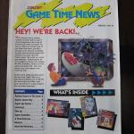 SUNSOFT Game Time News,Winter 1991