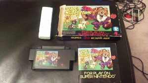 Super 3D Noahs Ark Nintendo SNES Complete CIB