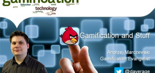 gamification and stuff