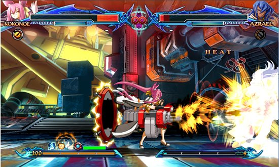 BlazBlue Chrono Phantasma 1