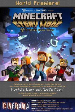 Minecraft-Story-Mode-Flyer