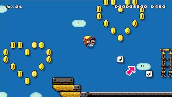 Super Mario Maker update 1