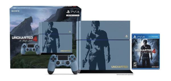Uncharted 4 PS4 bundle