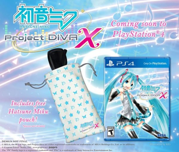 Hatsune Miku Project DIVA X ps4 bonus
