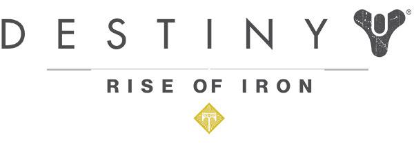 Destiny Rise of Iron logo new
