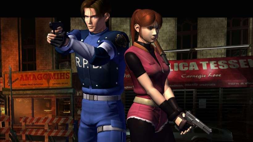 Resident Evil 2 Charakter