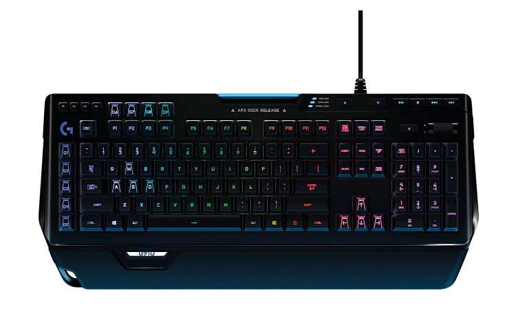 Tastatur Test Gaming Keyboard Logitech