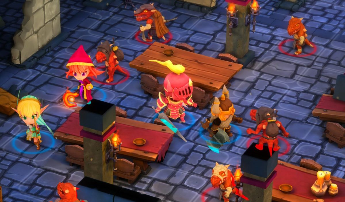 Super Dungeon Tactics Reveals its Valiant Heroes