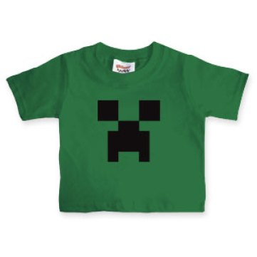 official licenced minecraft apparel creeper tee for kids