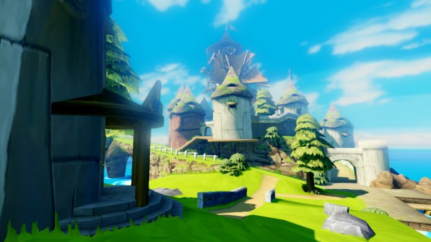 Windmill on Windfall Island from Zelda Wii U