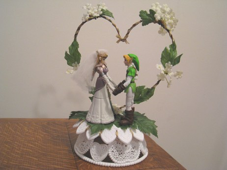zelda wedding cake