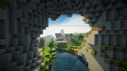 minecraft village cave