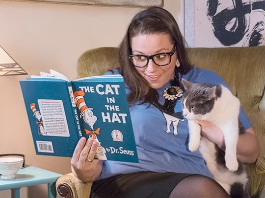 A Cat Reader, available through Groupon.