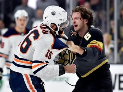 Fights of the NHL 2017-18 season