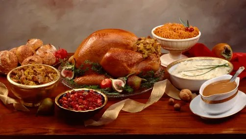 Large Of Prepared Thanksgiving Dinners