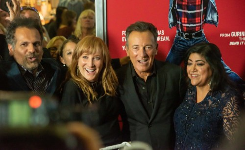 Bruce Springsteen hits the red carpet at the 'Blinded by the Light' premiere