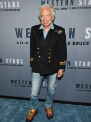 """He's good at all things,"" fashion designer Ralph Lauren said of Bruce Springsteen at the special screening of the rocker's film ""Western Stars"" on Wednesday."