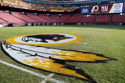 Washington plays at FedEx Field in Landover, Md.
