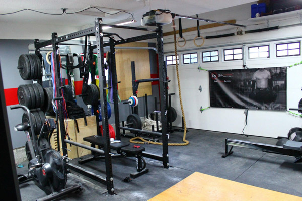Home Garage Equipment : Garage gym inspirations ideas gallery pg gyms