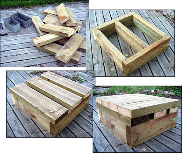 Making an adjustable heavy duty squat box plyo box for Homemade safety squat bar