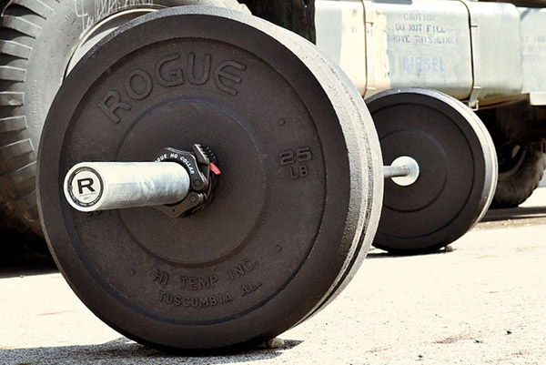 HI-Temp bumper plate sets made for Rogue