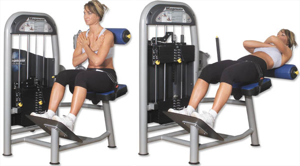 Low Back Extension Machine Back Extension Machine