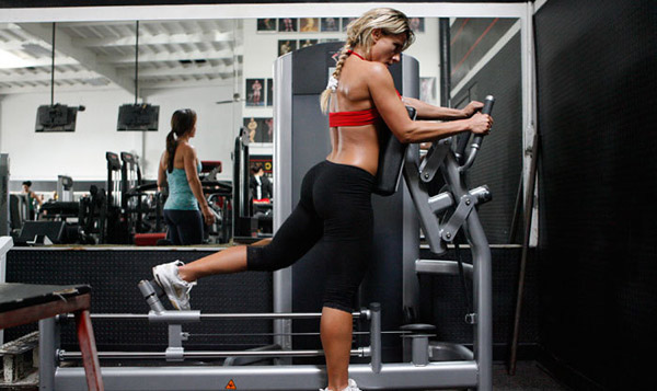 machine exercises for glutes