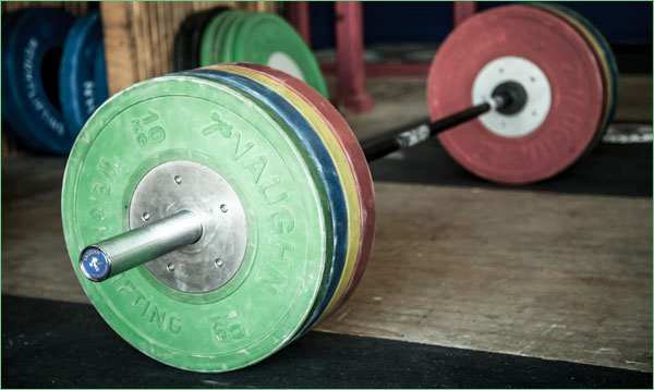 Vaughn Competition Bumper Plates - Pretty good price on these