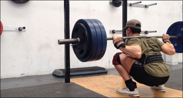 The search for the best squatting shorts to train in