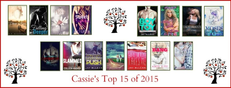 Cassie's Top 15 of 2015