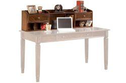 Small Of White Desk With Hutch