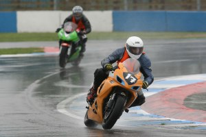 A bit wet at Donington Last year