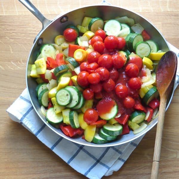summer vegetable saut