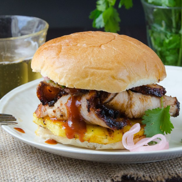 tangy barbecued pork sandwiches