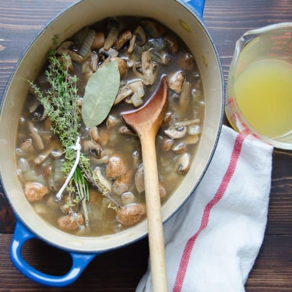 creamy mushroom bisque   Garlic + Zest