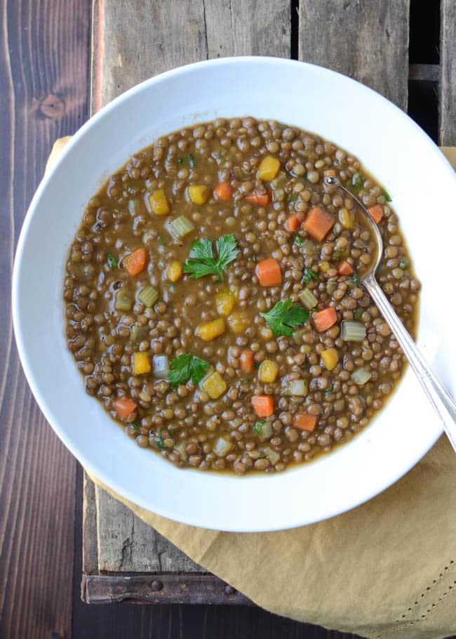 hearty lentil butternut soup-17