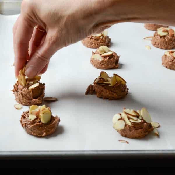 Mocha Almond Brickle Cookies | Garlic + Zest