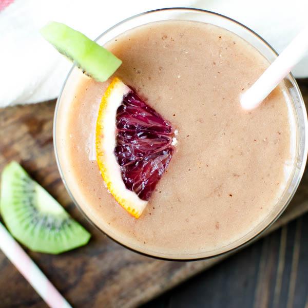 Tropical Blood Orange Smoothie   Garlic + Zest