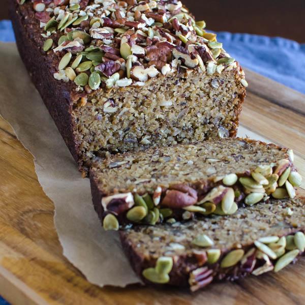 Gluten-Free Banana Coconut Bread | Garlic + Zest