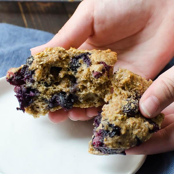 blueberry bran muffins-14